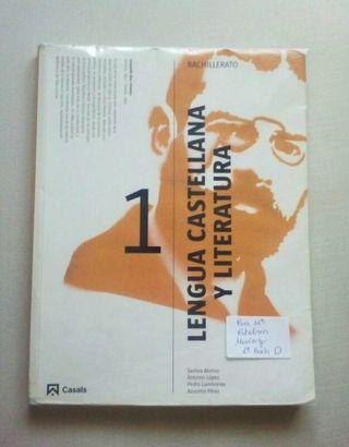 Libro Lengua y literatura 1 bachillerato