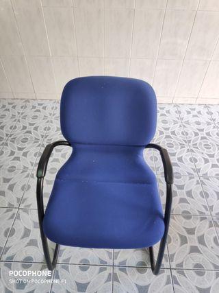 Sillas de oficina azules de segunda mano en la provincia de Madrid ...