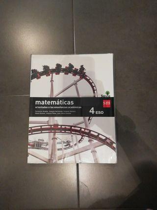 libro matemáticas 4°ESO