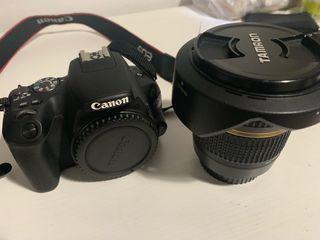 Canon 200d más objetivos