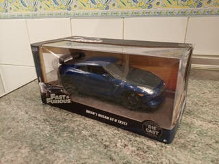 Maqueta Nissan GT-R Fast and furious