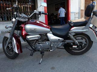motocicleta HIOSUNG ÁGUILA