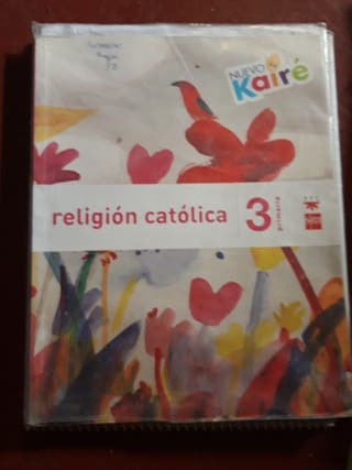 libro religión católica SM tercero primaria