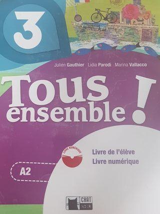 Libro Francés 3° ESO a estrenar