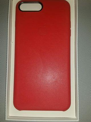 Carcasa iPhone 7 Plus piel