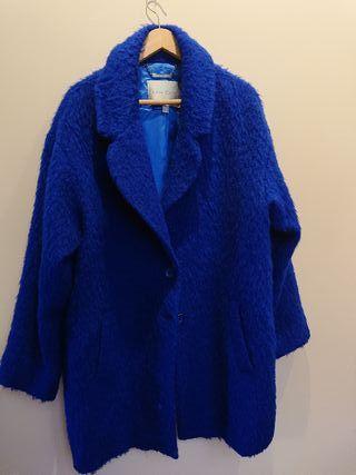 Abrigo lana Luis Civit azul