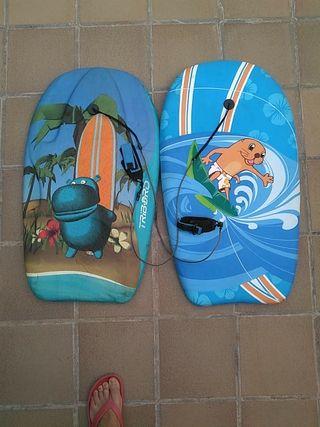 tablas de surf body board
