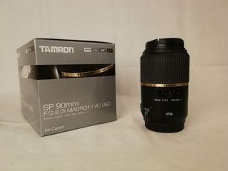 Objetivo macro Tamron SP90mm f2.8 DI VC para Canon