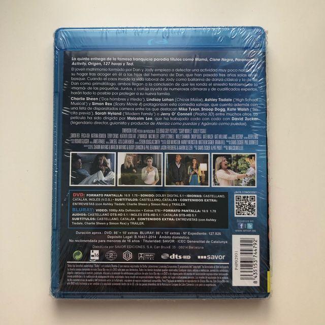 Scary movie 5 blu-ray precintado