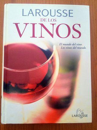 """libro. vino """"Larousse de los vinos"""""""