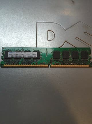 Memoria RAM DDR2 1GB Samsung