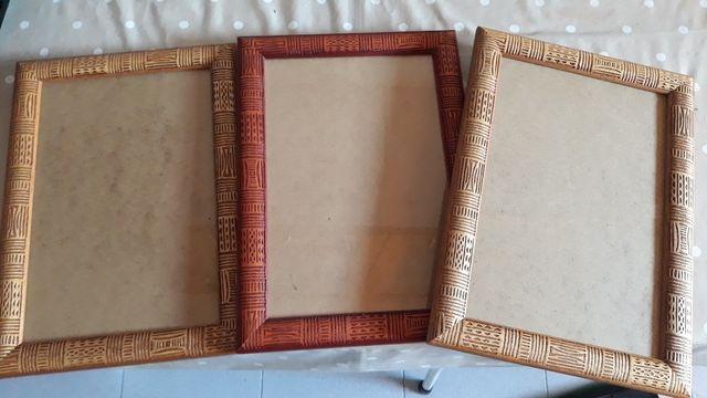 marcos de madera arte africanp
