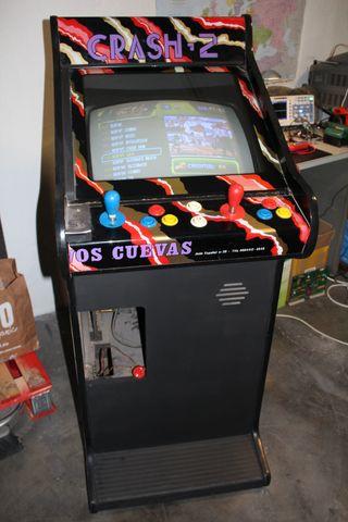 Maquina Recreativa Arcade Restaurada y Actualizada
