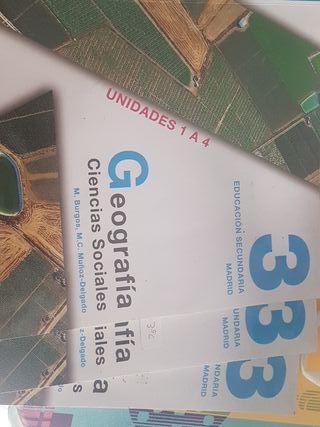 Libros Geografía Ciencias Sociales 3° ESO
