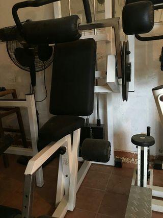 Máquinas profesionales de gimnasio marca Technogym