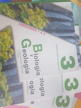 Libros Biología y Geología 3° ESO