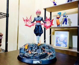 Figure class black goku rose