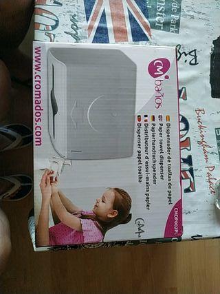 dispensador de toallitas de papel