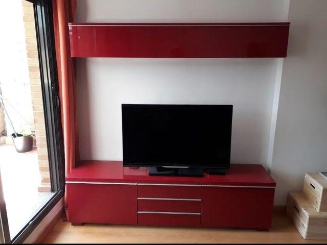 Conjunto Muebles Salon Modernos Ikea Besta Burs De Segunda Mano Por