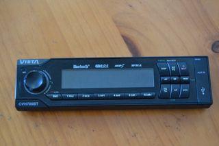 Radio CD mp3 para coches con usb y bluetooth