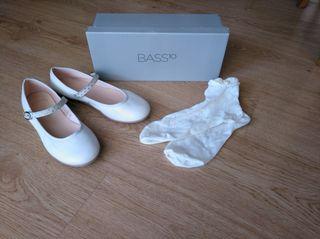 Zapatos y calcetines de comunión