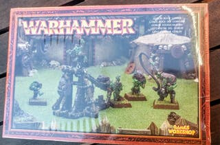 Warhammer. Lanzapiedras Goblin