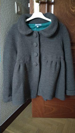 Abrigo de lana.