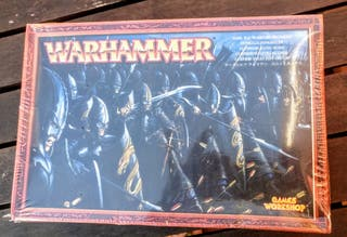 Warhammer. Guerreros elfos oscuros