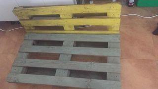 sillón palets reciclado