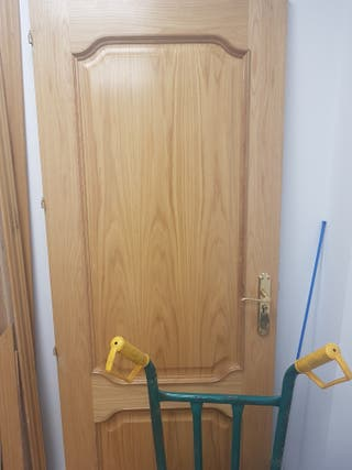 Puertas robles macizo