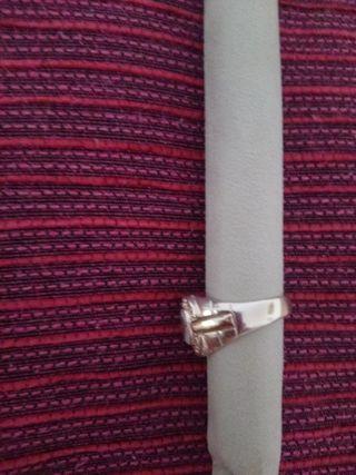 anillo hombre de plata 925