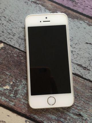 594c73e08e9 Iphone. 110 €. Iphone. IPHONE 5S 16G Libre Blanco plata ...