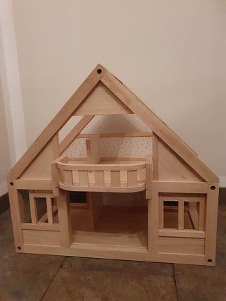 casa de muñecas madera nueva a estrenar