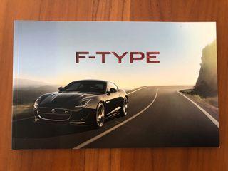 Catálogo Jaguar F-Type
