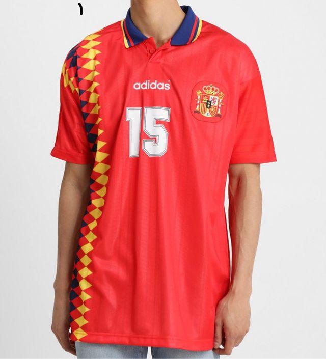 Camiseta Adidas España XXL-2XL retro