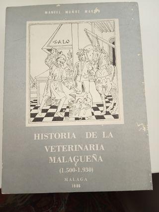 Historia de la Veterinaria Malagueña