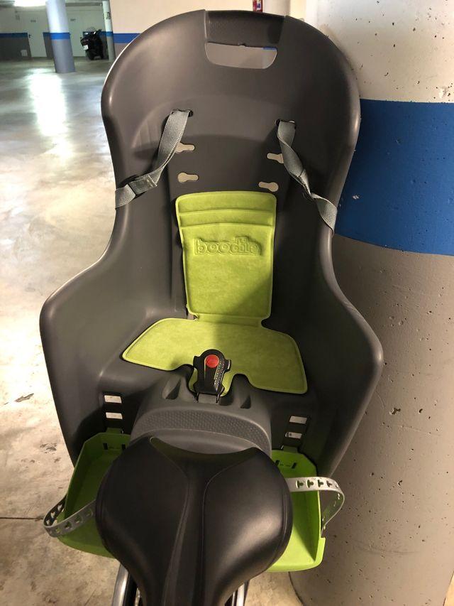 Bici con silla para niños
