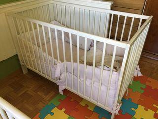 Cuna bebe 120 x 60 cm