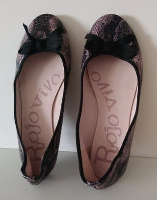 zapatos tipo manoletina mujer