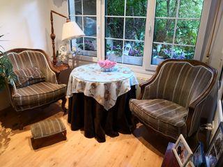 sillones antiguos muy cómodos