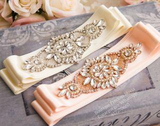 Cinturón para vestido de novia ,alta calidad
