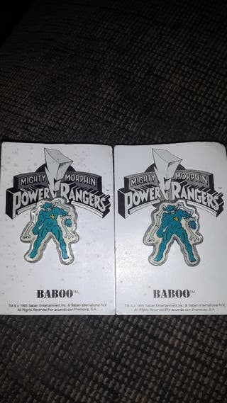 Pack de pins Baboo Power Rangers Mighty Morphin