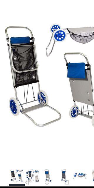 carro porta sillas nuevo