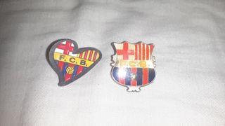 Pack de 2 pins F.C.Barcelona