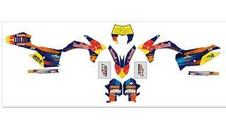 Adhesivos KTM 2012 y 2013 exc,sx