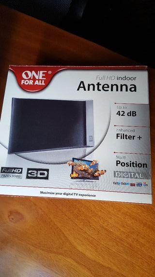 Antena amplificadora digital Full HD