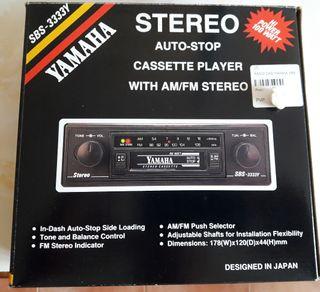 Radio cassette antiguo Yamaha