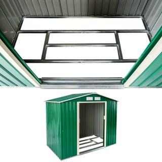 Cobertizo caseta de jardín metálica metal invernad