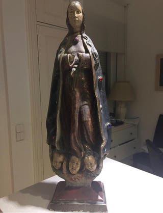virgen antigua siglo xvi
