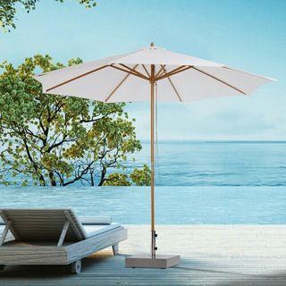 Sombrilla Parasol para Terraza Jardín Piscina Pati